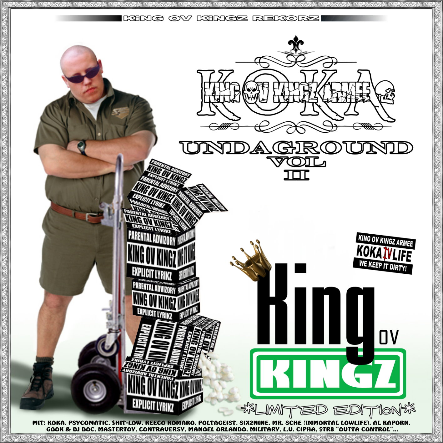 KOKA / KING OV KINGZ ARMEE - UNDAGROUND VOL. 2 (LIMITED EDITION) (RAP / HIP HOP)