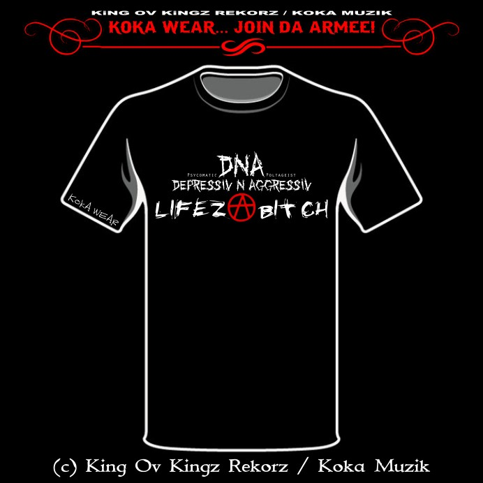 D.N.A. / DEPRESSIV N AGGRESSIV - LIFEZ A BITCH (BAND COLLECTION)