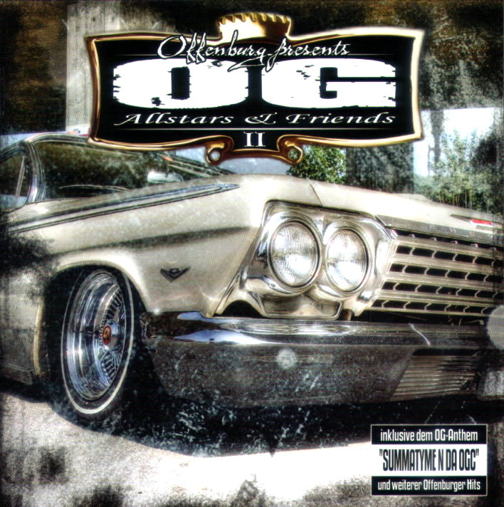 OG ALLSTARS & FRIENDS VOL. 2 (RAP / HIP HOP)
