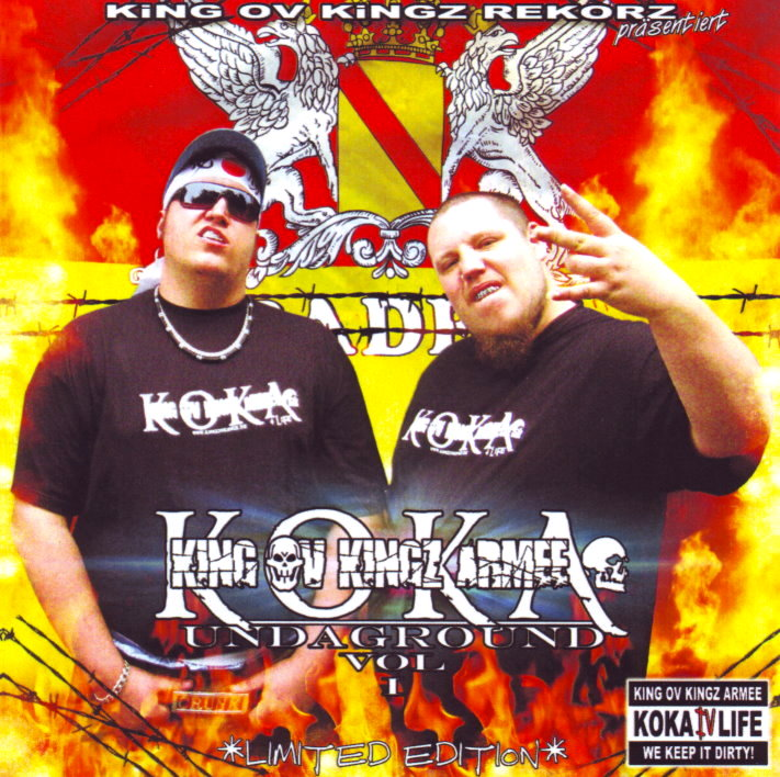 KOKA / KING OV KINGZ ARMEE - UNDAGROUND VOL. 1 (LIMITED EDITION) (RAP / HIP HOP)