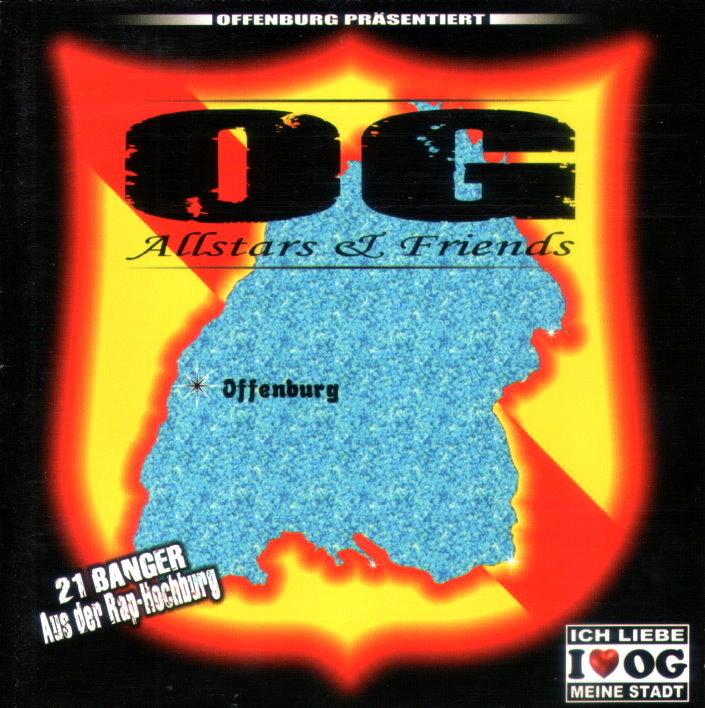 OG ALLSTARS & FRIENDS VOL. 1 (RAP / HIP HOP)